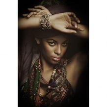 dome deco Schilderij C African woman