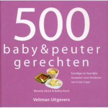 Kinderkookboek 500 Baby & peutergerechten