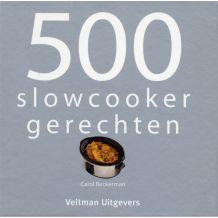 Kookboek 500 Slowcookergerechten