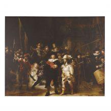Canvasschilderij Nachtwacht
