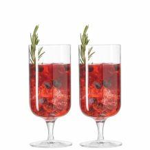 leonardo Glas, set van 2 PUCCINI