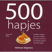 KOOKBOEK 500 HAPJES